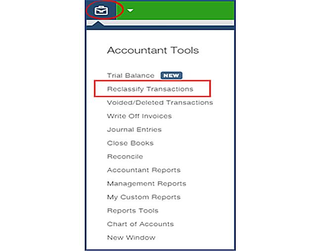Reclassify tool Step 1
