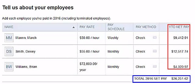 Year-to-date Payroll Conversion QBD to QBO