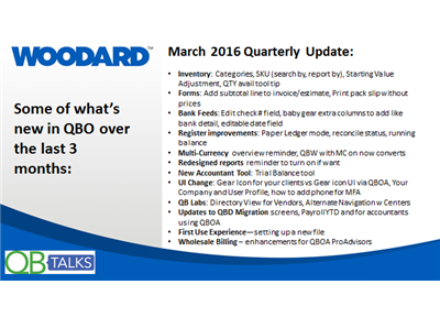 March 2016 QBO Product Update