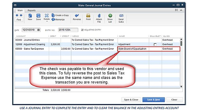 Adjusting Sales Tax - Figure 4