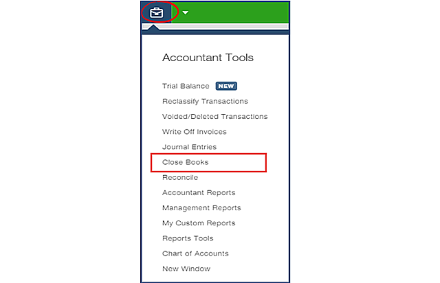 Close Books from Accountant Tools