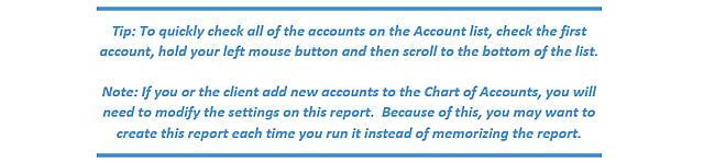 TJW Adjustment Report Tip 1