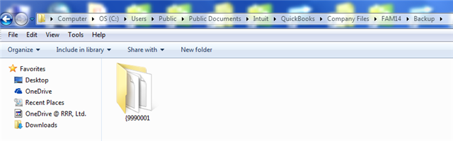 FAM Backup File