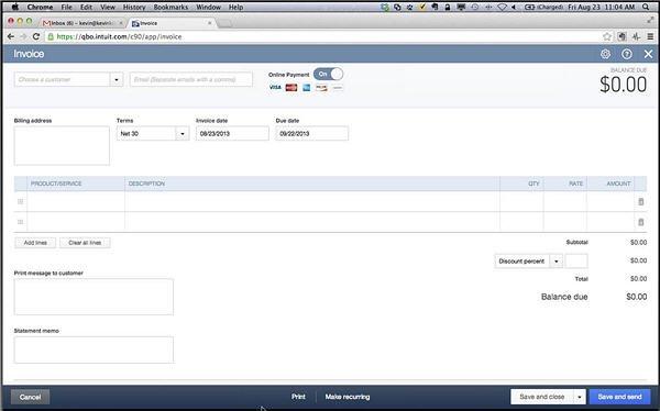 Slide 3 - QBO Invoice