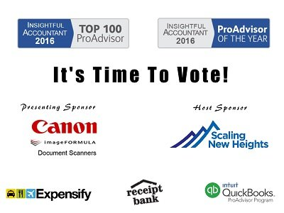 Vote For The 2016 ProAdvisor of the Year