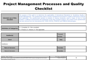 Quality Control Checklist Example