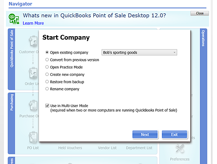 QuickBooks Point-of-Sale V12