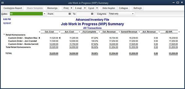 Quickbooks   WhatS New In Job Costing  InsightfulaccountantCom
