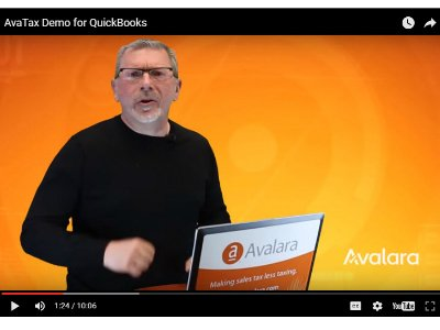 AvaTax & QuickBooks Demo