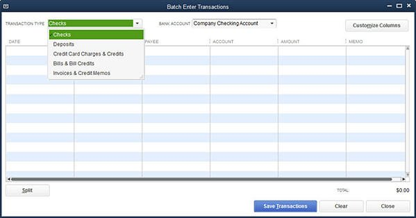 Slide 2 - Batch Enter Transactions (Enhanced for QuickBooks 2014)
