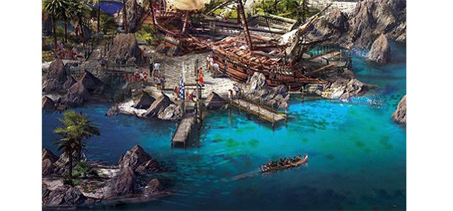 Pirates of the Caribbean - Conceptual Rendition