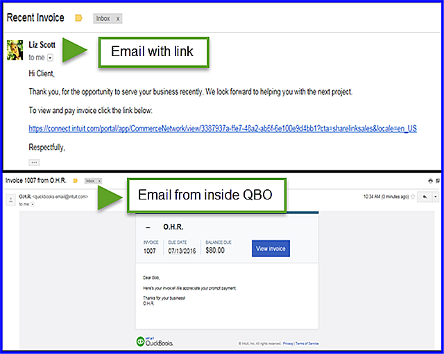 Share Invoice Link - figure 1