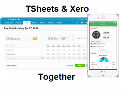 TSheets and Xero Together
