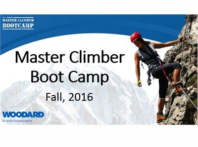 Master Climber Boot Camp