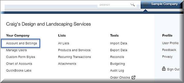QuickBooks Online - Estimates into Purchase Orders