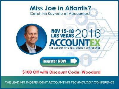 Accountex USA - Joe Woodard