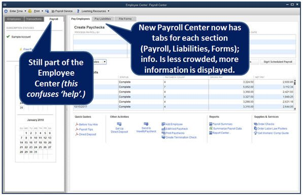 Enhanced Payroll Center