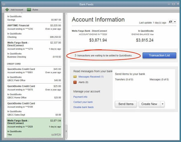 QuickBooks 2014 - Is the Third Time the Charm? - New Bank
