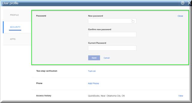 QBO Password - Figure 6