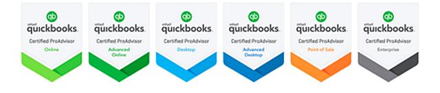 New ProAdvisor Badges 201609
