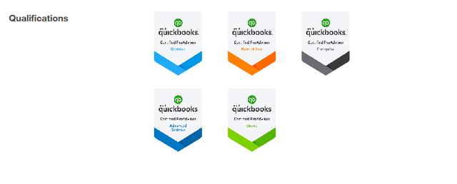 New badges on Find-a-Pro Website