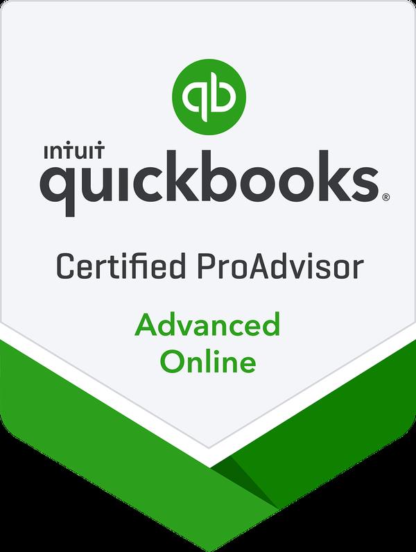 QBO Advanced ProAdvisor Badge