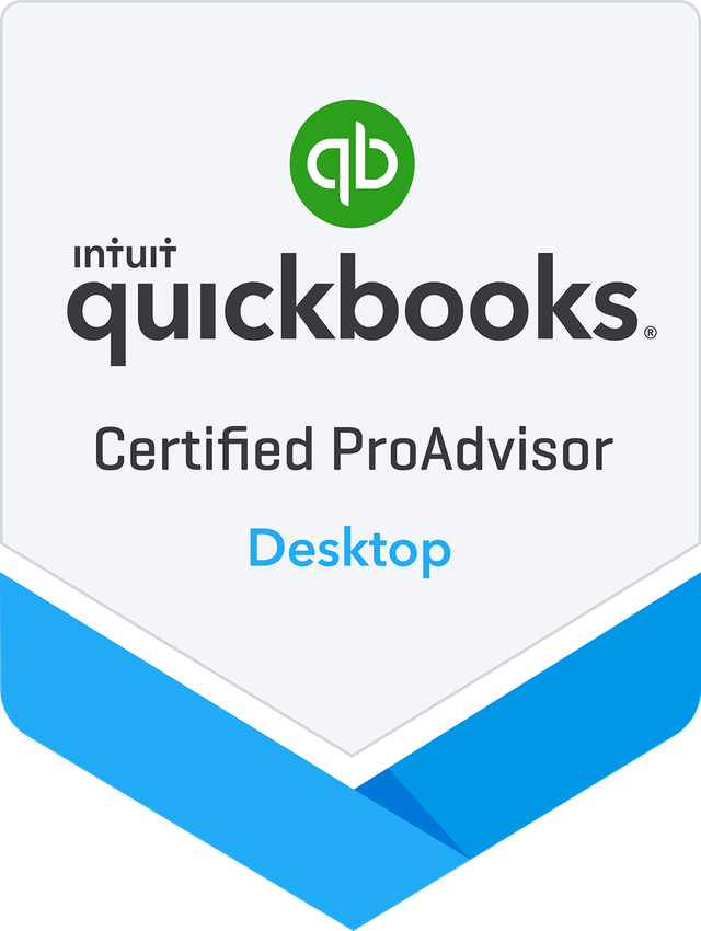 QB Desktop ProAdvisor Badge