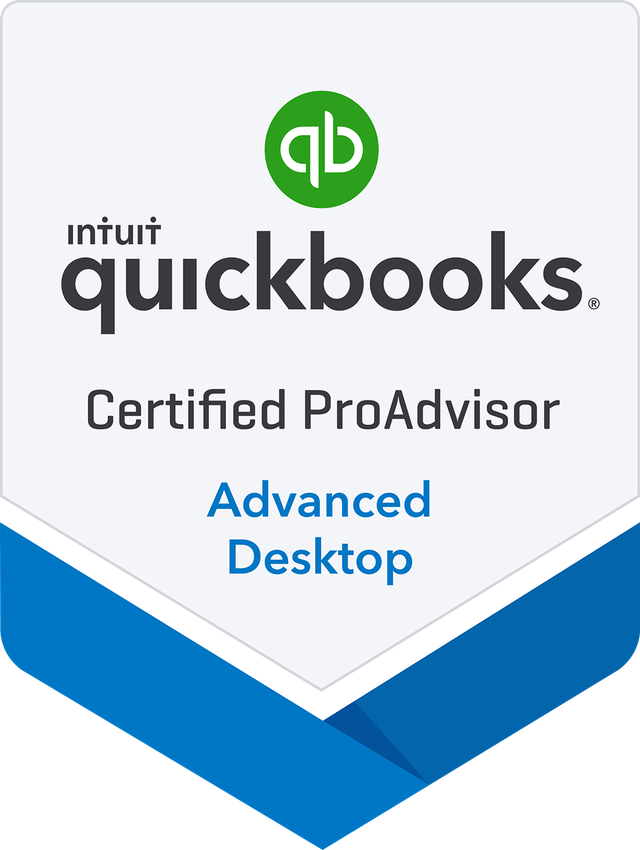 QB Desktop Advanced ProAdvisor Badge