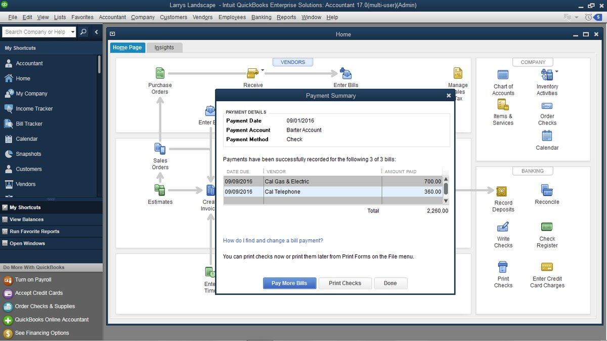 quickbooks desktop pro 2017 multi user