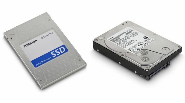 Solid State and Hard Drive Data Storage