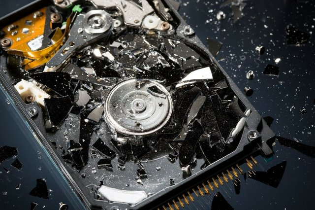 Broken Hard Drives