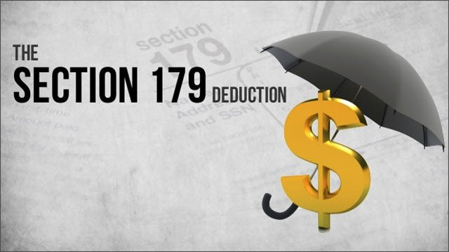 IRS Section 179 Deduction