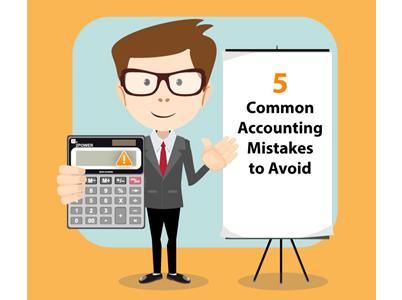5 Accounting Errors