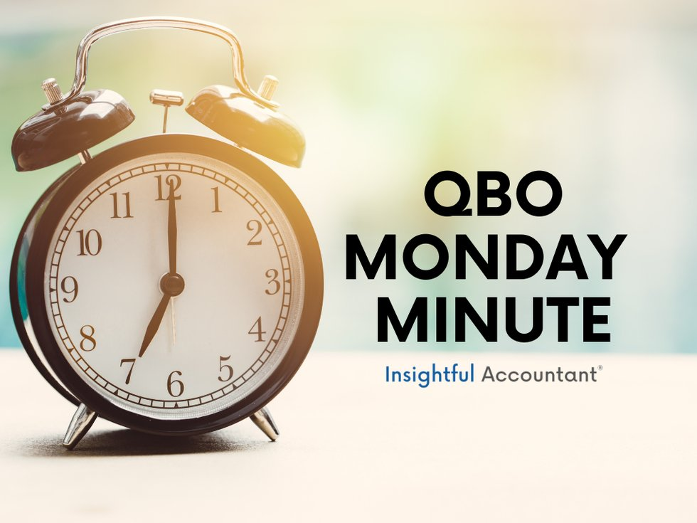 QBO Special Monday Minute