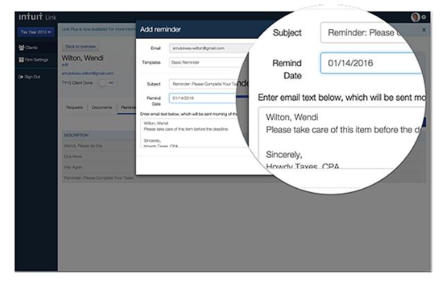 PCTO Client Portal Reminders