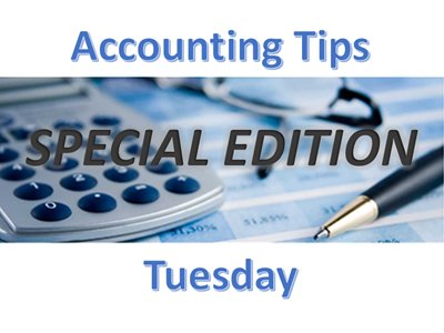 Accountiing Tips Tuesday SE