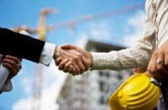 Construction handshake
