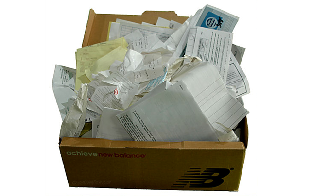 Receipt Shoebox
