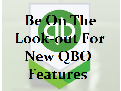 Look-out for What's New in QBO