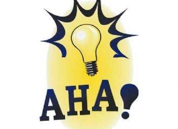 Lightbulb aha