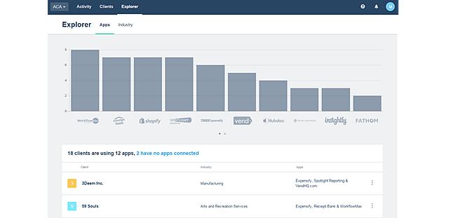 Xero HQ Explorer - Apps