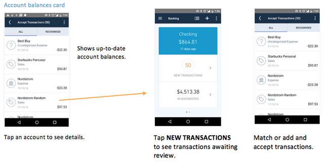QBO Android Account Balances