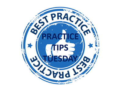 Practice Tips Tuesday