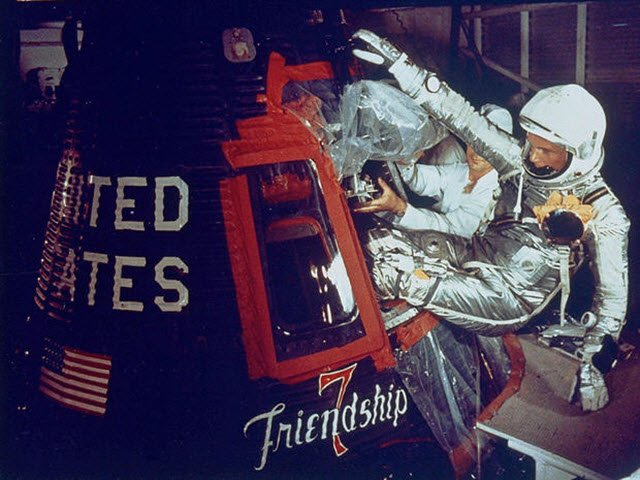 John Glenn & Friendship 7