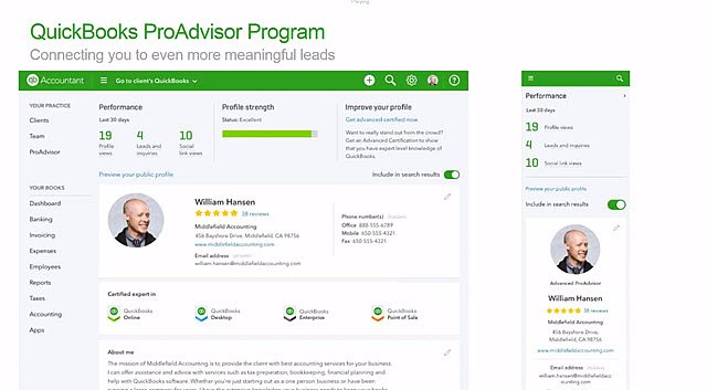 New Find-a-ProAdvisor (ProView)
