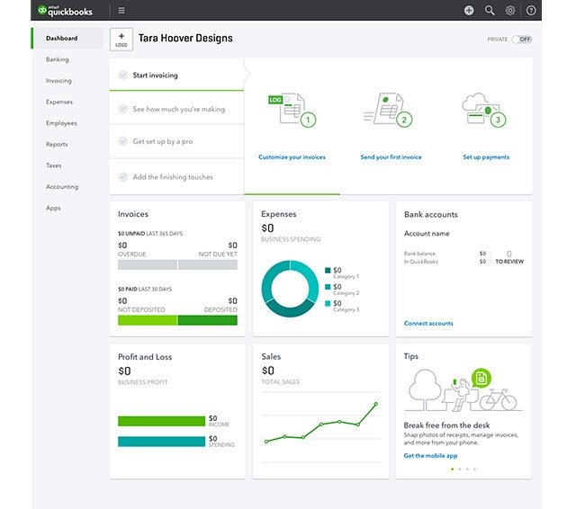 New QBO Dashboard