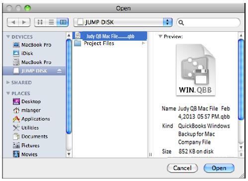 QB for Mac