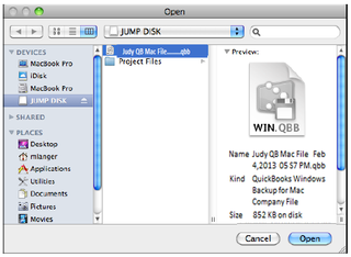 The QuickBooks for Mac Verify Utility and QuickBooks log file