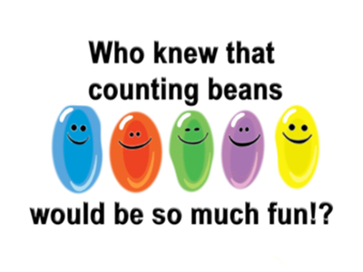 Bean counting fun