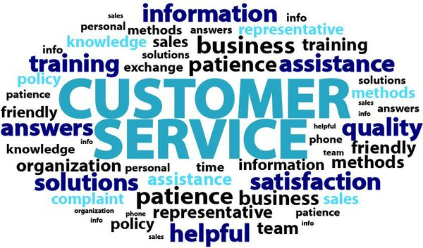 Customer Service collage